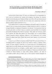 LA MIRADA QUE REGISTRA O EL PINCEL QUE INTERPRETA? 1 ...