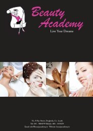 Live Your Dreams - Beauty Academy