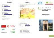 Begleitprogramm (2 - Hochschule für nachhaltige Entwicklung ...