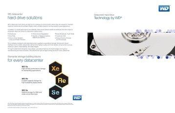 WD Enterprise Hard Drives Brochure