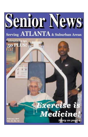 Exercise is Medicine! - Senior News Georgia