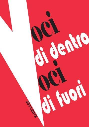 Report Voci - a.s. 2011 - 2012 - Treviso volontariato