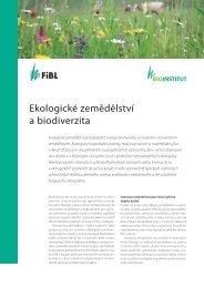 Ekologické zemědělství a biodiverzita