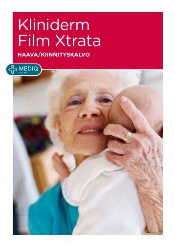 Lataa tästä Kliniderm Film Xtrata -esite - Mediq Suomi Oy