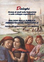 Monografia 2012 - Dialoghi