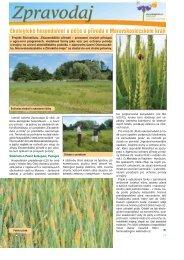 Ekologické hospodaření a péče o přírodu v Moravskoslezském kraji