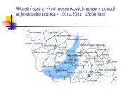 Aktualní stav a vývoj pozemkových úprav v povodí Vojtovického ...