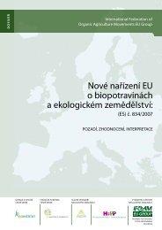 Nové nařízení EU o biopotravinách a ekologickém ... - Bioinstitut, o.p.s.