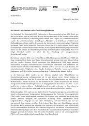 An die Medien Freiburg, 26. Juni 2012 Medienmitteilung _ Die ...