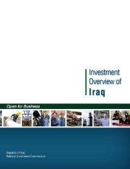 Iraqi National Investment Commission - International Trade ...