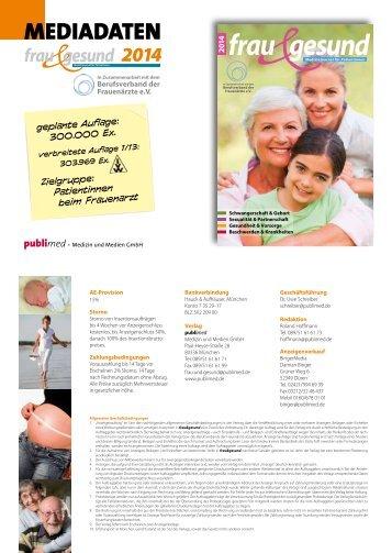 014 frau gesund - publimed - Medizin und Medien GmbH