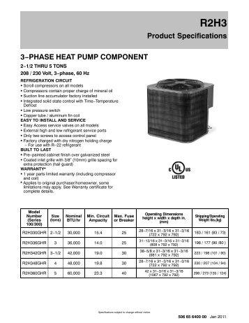 Lennox Hs26 manual
