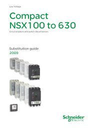 Compact NSX100 to 630 - Schneider Electric