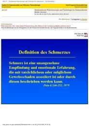 400.255 -- Systematische Pharmakologie und Toxikologie für ... - EDIS