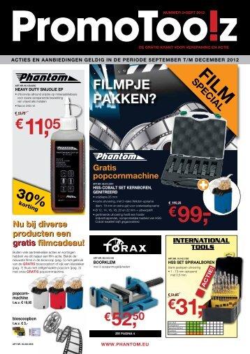PromoToolz sept-dec NL