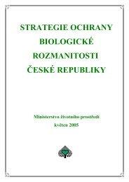 strategie ochrany biologické rozmanitosti české republiky
