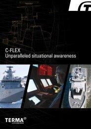 C-flex Unparalleled situational awareness - terma