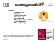 7. Meridiangymnastik 8. Bauern Qi Gong Programm - wellnessel.or.at
