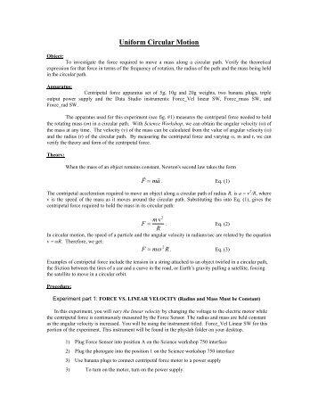 Circular Motion Worksheet Answers, Circular Motion Archives ...