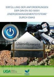 Erfüllung der Anforderungen der DIN EN ISO 50001 durch EMAS