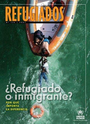Refugiado o inmigrante? Por qué importa la diferencia - iripaz
