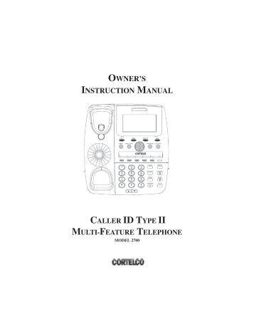 2700 User Manual Rev 1.pmd - Orficn.net