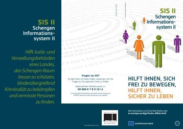 EUJLS08B - HOME - SIS II - Leaflet V22.indd - Europa