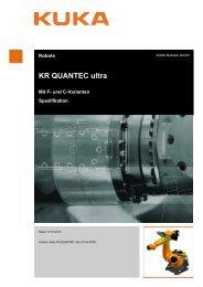 KR QUANTEC ultra - KUKA Robotics