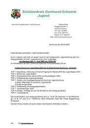 Schützenkreis Dortmund-Schwerte Jugend - Bezirk Hellweg