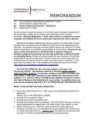 MEMORANDUM - Vysoká škola manažmentu