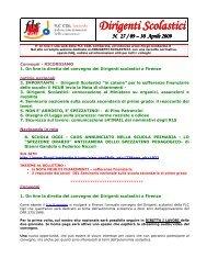 notiziario 27 30/04/2009 - FLC CGIL Lombardia