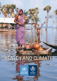Atlas of health and climate - World Health Organization