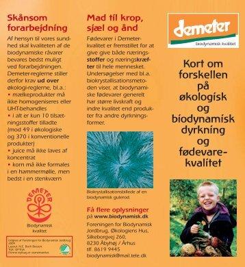 kvalitet - Foreningen for Biodynamisk Jordbrug
