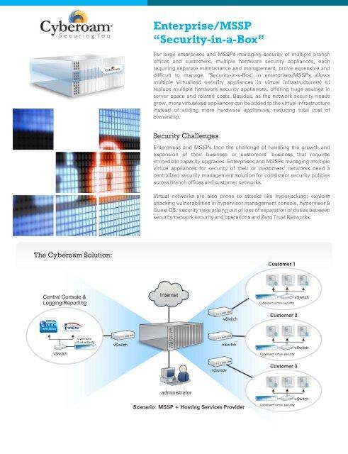 Enterprise/MSSP