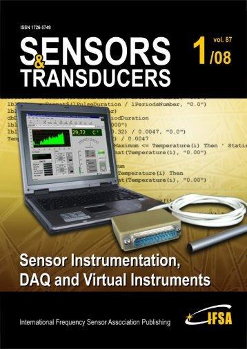 Impact Factor of Sensors Journals - International Frequency Sensor ...