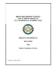 broward sheriff's office 2601 w. broward blvd. ft. lauderdale, florida ...