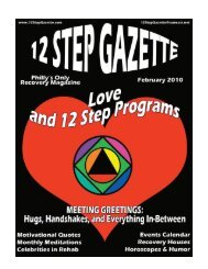 February 2010 - 12 Step Gazette