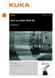KR 5 sixx R650 WP, Roboter - KUKA Robotics