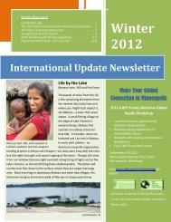 International Update Newsletter - American Academy of Family ...