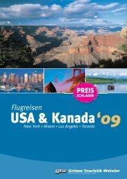 USA & Kanada - Grimm Touristik