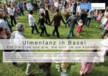 Ulmentanz in Basel - Neustart Schweiz