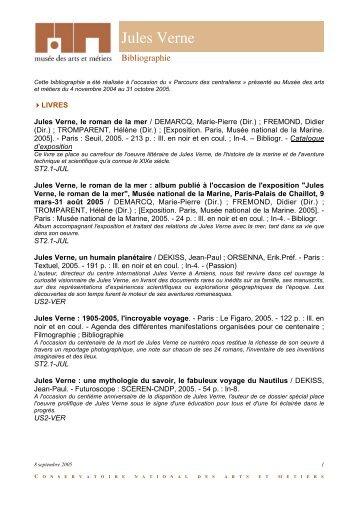 pdf : Jules Verne - Musée des arts et métiers