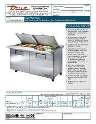 Spec Sheet - JES Restaurant Equipment
