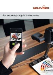 Smartphone App Prospekt (PDF) - WolfVision