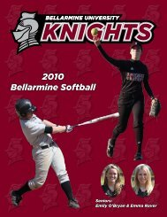 2010 Bellarmine Softball - Bellarmine Athletics - Bellarmine University