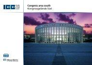 Congress area south  -  ICC Berlin