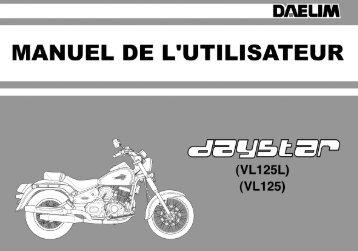 Manuel DAYSTAR 125 (Page 1)