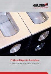 Eckbeschläge Aluminium Corner Fittings Aluminium