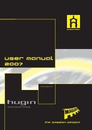 User manual 2oo7 - Magura