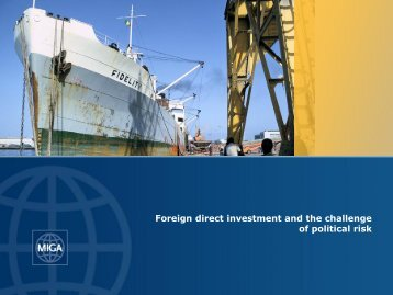 Foreign direct investment and the challenge of political risk - Waipa